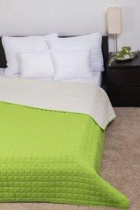 Laura ágytakaró zöld-törtfehér 26b517a6cc